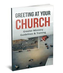 church greeter training manual